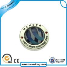 Завод Пользовательские Брелок Держатель Металлический Значок Pin Отворотом