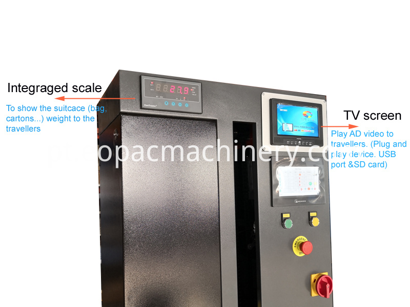 Hotel Luggage Wrapper Luggage Wrapping Machine
