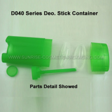50g Green Oval Shape Deo. Stick Tube