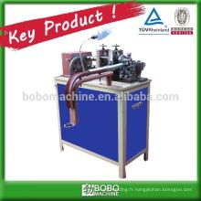 Machine de fabrication de conduites flexibles en acier inoxydable
