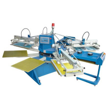 Spe-154/10 4 Colors 10 Stations Cheap T Shirt Screen Printing Machine Printer
