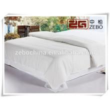 Neue Ankunfts-1cm Streifen-Hotel und Krankenhaus verwendete Bett-Bettwäsche stellt Königin ein