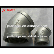 "ASME 1/2 ""-24"" pli en acier inoxydable"