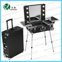 Cosmetic Light Case Adjustable Kit with Big Mirror