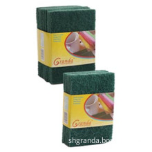 9-Pack General Purpose Green Heavy Duty Nylon Abrasive Scouring Pad