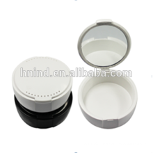Good quality! Orthodontic Denture Box / Denture Retainer Box with Mirror