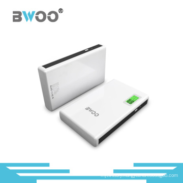 15400mAh Portable Power Bank with Ce/RoHS Certificate