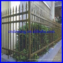 Besondere Merkmale von Stahl Palisade Zaun