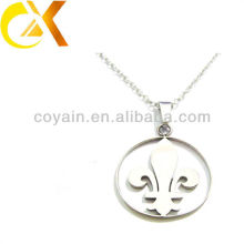 Stainless Steel jewelry silver pendant