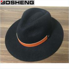Chapeau de laine de disquettes noire