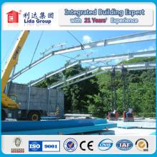 Taller de Estructura de Acero Ligero Galvanizado