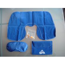 Personalizado OEM Soft Touch promocionales 3 en 1 Kit de viaje