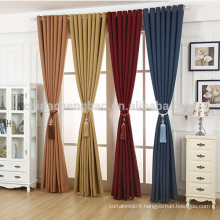 Home Decor Magnetic Mesh Curtain Pure Linen Curtain for Hotel