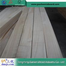 Panel Paulownia Finger Joint Board für Snow Core