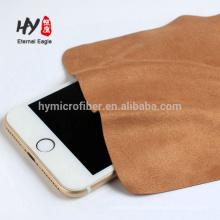 Personalizado microfibra 20% nylon + 80% poliéster óculos pano de limpeza