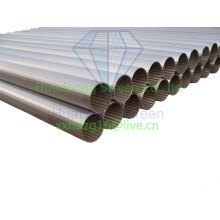 Wedge wire wrap screen pipe