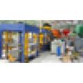 Bau Gebäude Diesel Motor manuell Zement Beton Hohlblock Ziegel Maschine machen Maschine