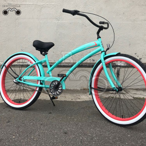 nexus 3s beach cruiser bike para mujeres