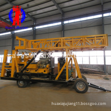 XYX-44A Wheeled rock soil core Drilling Rig water well drilling machine , auger rotary truck vehicle mounted drilling machinery