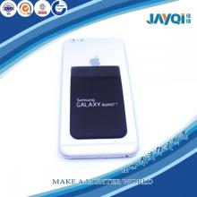 Logo Print Smart Phone Wallet Silicone Card Pocket