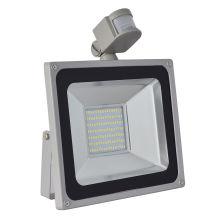 Vente chaude 100W PIR Motion Sensor SMD LED Floodlight extérieure imperméable à l'eau Spot Spot