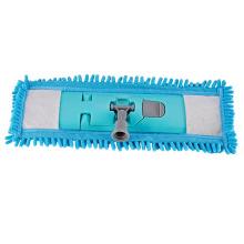 Neuer flacher Reinigungs-Baumwoll-Mikrofaser-Moppkopf für Hotel / Haushalt