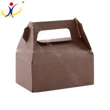 ¡Color personalizado! Venta caliente La mejor calidad Cajas de papel Kraft Brown