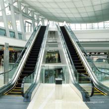Escaleras mecánicas interiores para aeropuertos, centros comerciales (30/35 grados)