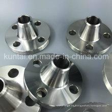 ASTM B16.5 forjó el reborde del cuello de la soldadura del acero inoxidable del RF (KT0376)
