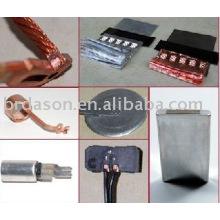 Machine ultrasonique de soudure en métal pour des feuilles d'aluminium et de cuivre