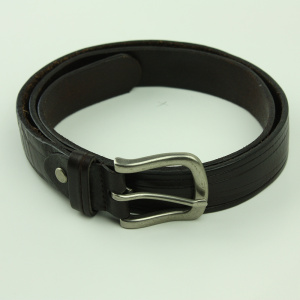 Classique & Fashion Designs Hommes Pin Buckle Belt