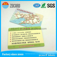 Kundengebundene gedruckte Plastik-PVC-Gruß-Karten-Geschenk-Mitgliedskarte
