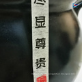 Diseño de aduanas que enmascara la etiqueta engomada del azúcar marrón del carrito de té de la etiqueta del canister del té de papel