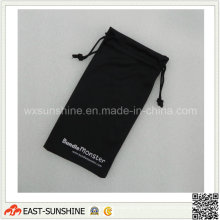 Silk Printed Microfiber Pouch (DH-MC0496)