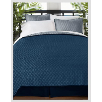 Ultrasonic Quilted Polyester Microfibre Bedspreads