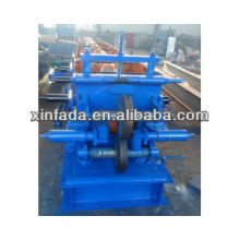 Máquina perfuradora de rolos intercambiáveis C / Z Purlin