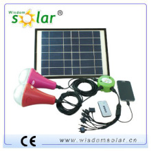 CE patent MINI solar emergency lamp with 2 led bulbs