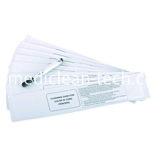 Magicard Card Printer Cleaning Kits M9006-866 Presaturated Long T Cleaning Cards Cleaning Pen