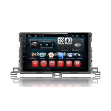 Завод Kaier +четырехъядерный сенсорный Android 4.4.2 автомобильный DVD для Тойота Хайлендер 2015+ОЕМ+1024*600+mirrior ссылке +ТМЗ