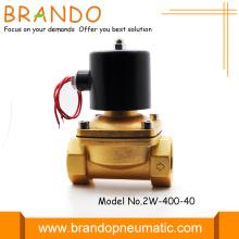 Válvula de solenóide 2w400-40 Dc 12v 1.5 polegadas