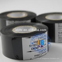 Folha de carimbo quente da cor preta da fita do código da data para o grupo da data de expiração nenhuma impressão