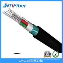 48-жильный волоконно-оптический кабель GYTS со стальным профилем для наружного применения