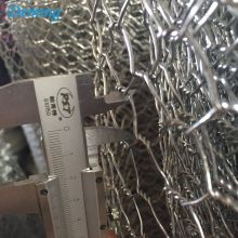 1mm Wire Black Coated Hexagonal Galvanized Wire Netting