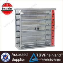 Restaurante Gas / Electric K070 15/30 Chickens Bbq Rotisserie vertical