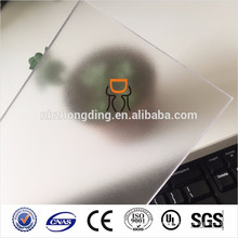 1.5mm frosted clear polycarbonate sheet for chair mat