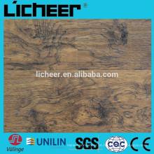 Indoor superfície EIR imitado piso de madeira / fácil click laminado piso