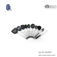 Ensemble d'ustensiles de cuisine en silicone 10PCS