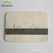 Natural marble chopping cutting board with board/pastry board