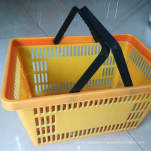 Grocery Supermarket Shopping Plastic Hand Basket