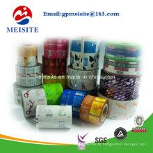 Material Laminado Embalaje de Alimentos Bolsa / Saco Rollos de Película de Plástico